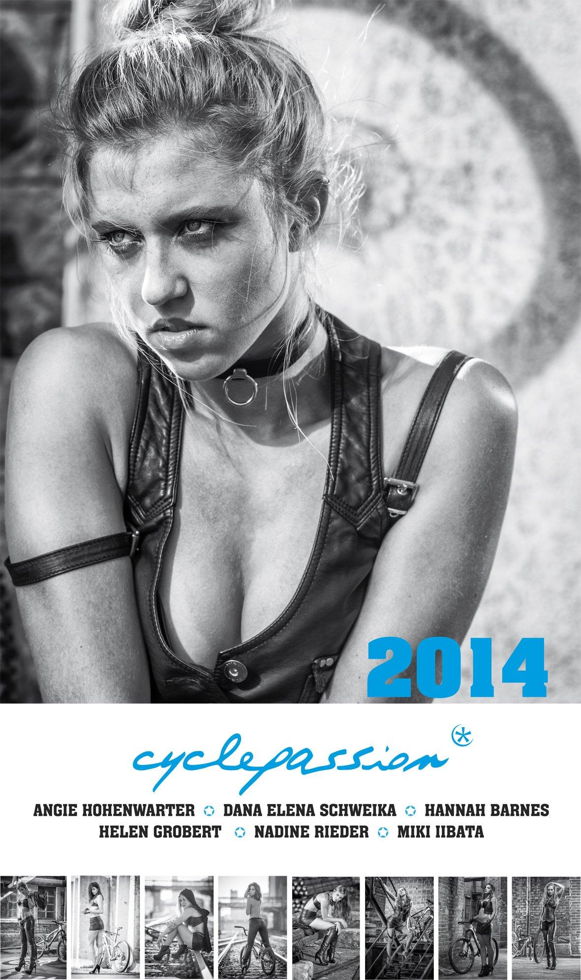 cyclepassion Radkalender 2014: Fahrradkalender-Wandkalender