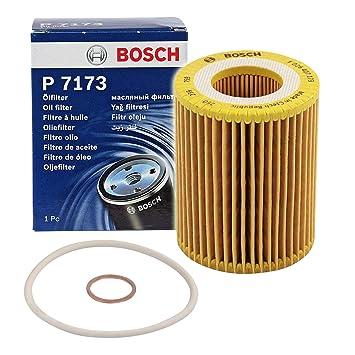 Amazon.com: Filtro de aceite BOSCH inserto para BMW 1 °F80 ...