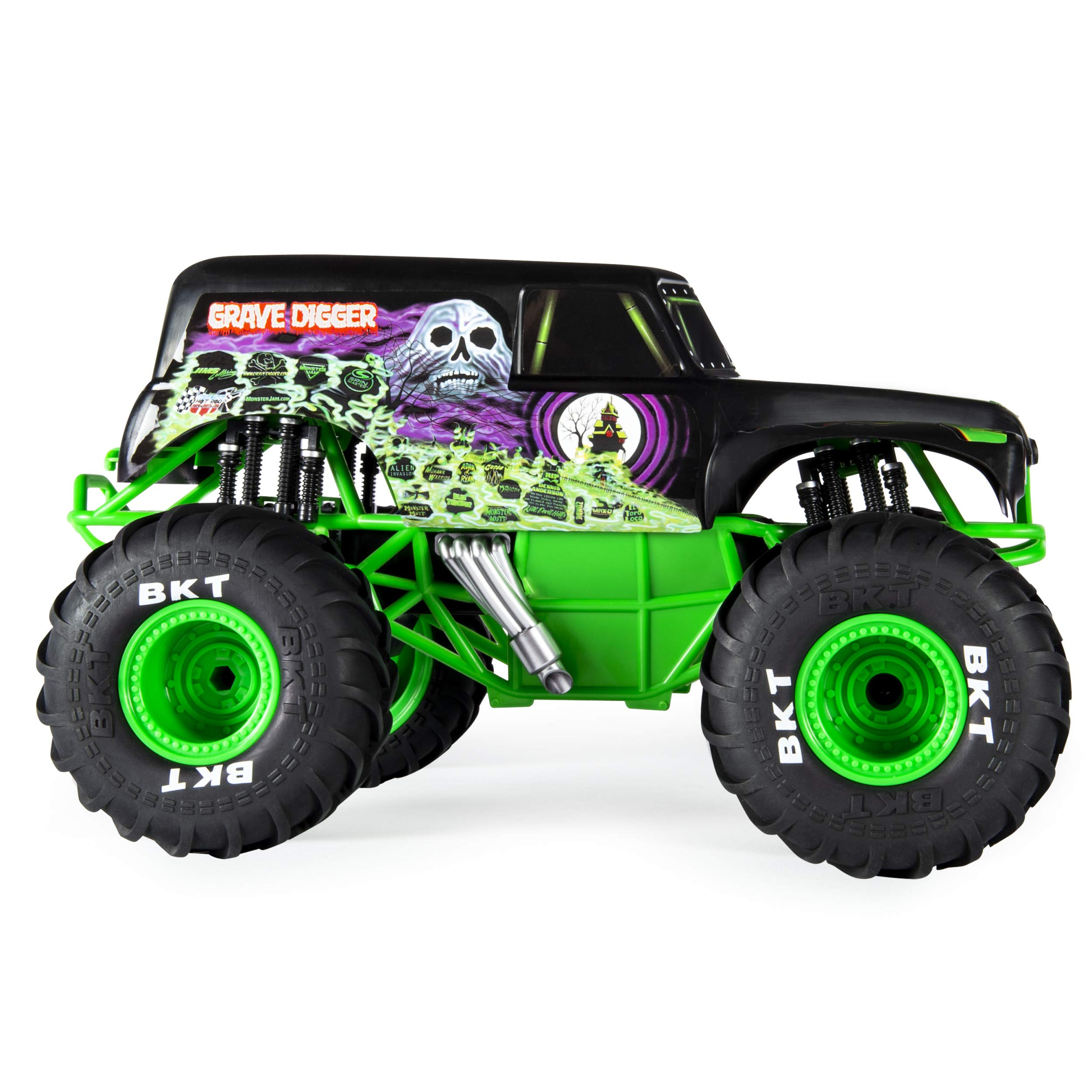 Monster Jam Official Grave Digger Remoter Control Monster Truck, 1: 15 Scale, 2.4Ghz by Monster Jam (Image #4)