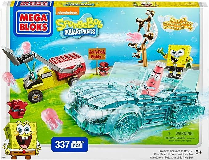 Bob Esponja - Rescate de Las Medusas (Mega Bloks 94620): Amazon.es: Juguetes y juegos