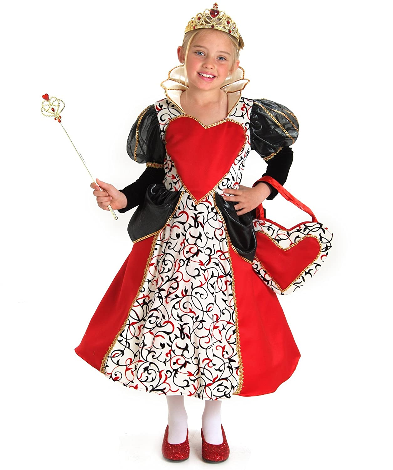 amazoncom queen of hearts kids costume toys games