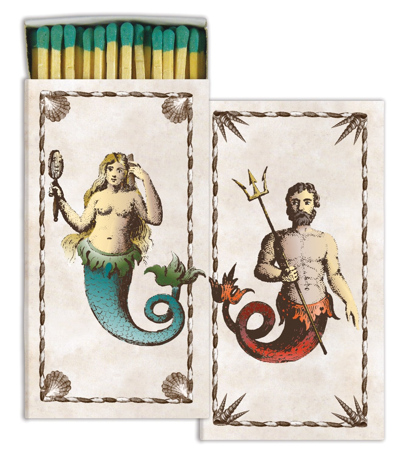 Matches - Mermaid/Neptune (Set of 12)