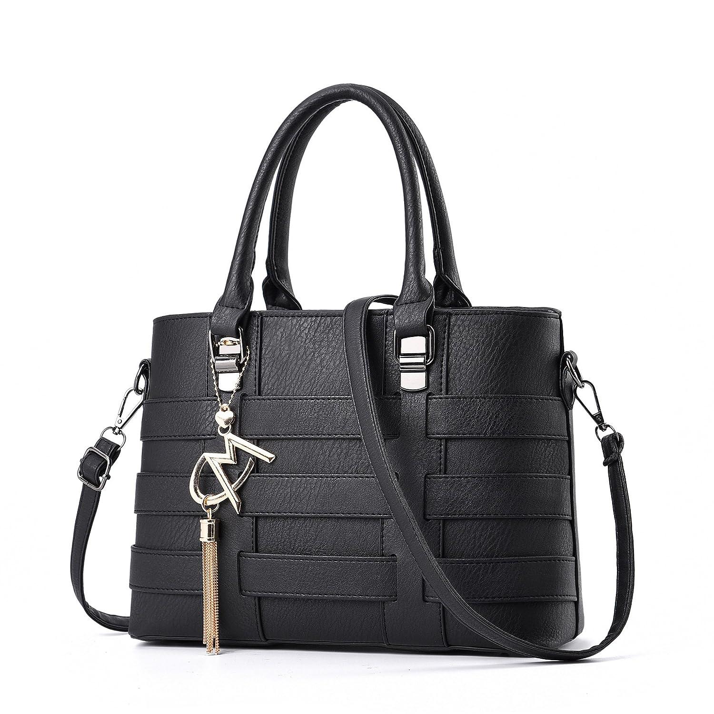 MIMI KING Fashion Tote Schultertasche Für Frauen PU Leder Damen Geldbörsen Satchel Designer Messenger Handtasche B07D2XV7V1 Damenhandtaschen Die Farbe ist sehr auffällig