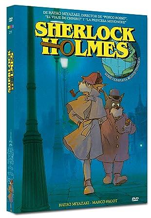 Pack Miyazaki Sherlock Holmes (Nueva Edicion - 4 Discos) [DVD]