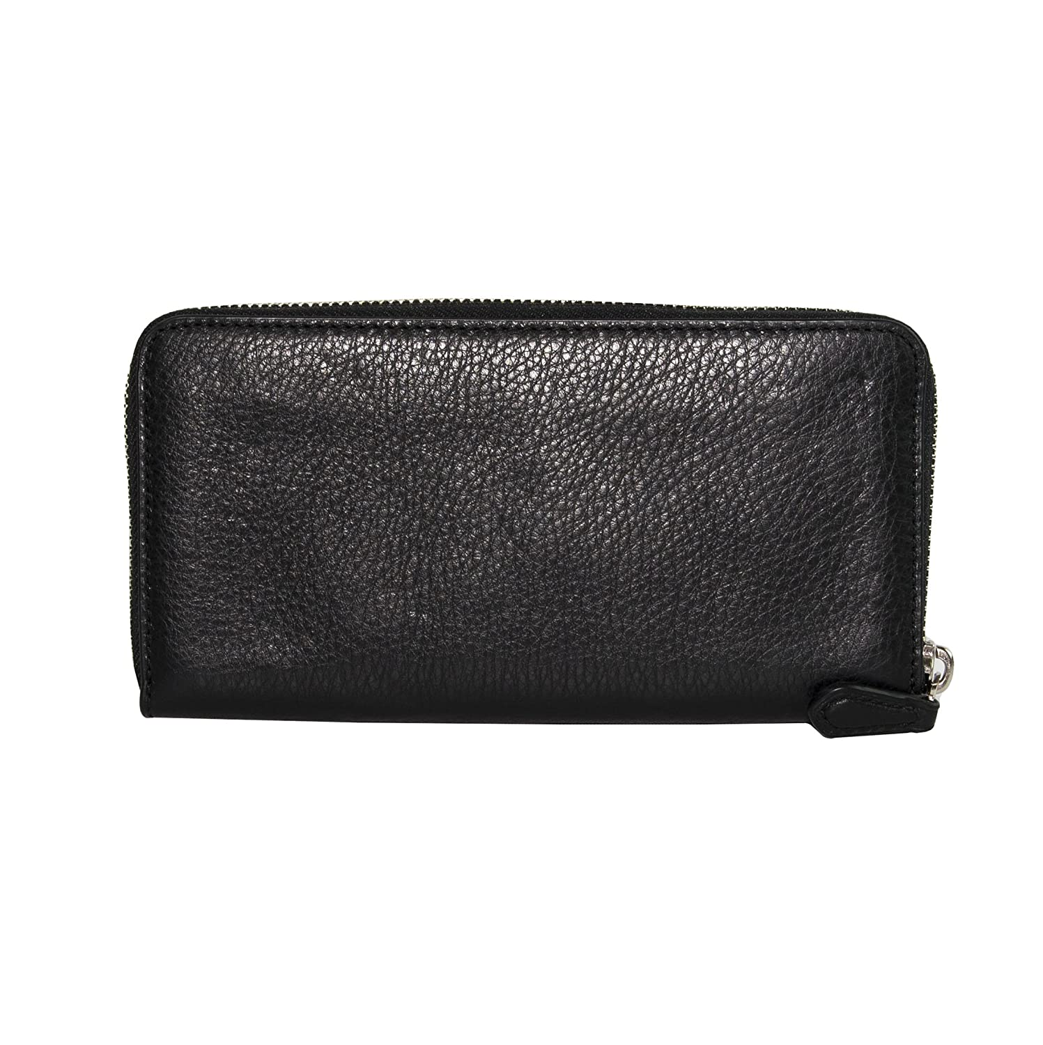 bd35cc091ef1 Coach Stardust Star Studded Black Pebbled Leather Zip Around Continental  Wallet 22700  Amazon.co.uk  Clothing