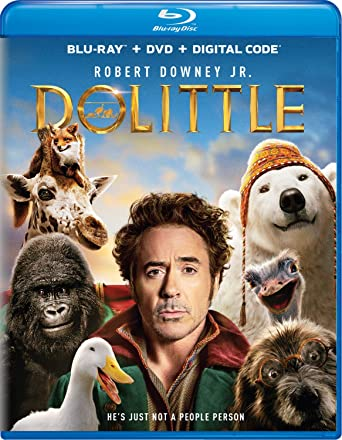 Dolittle [Blu-ray]: Robert Downey Jr., Antonio ..