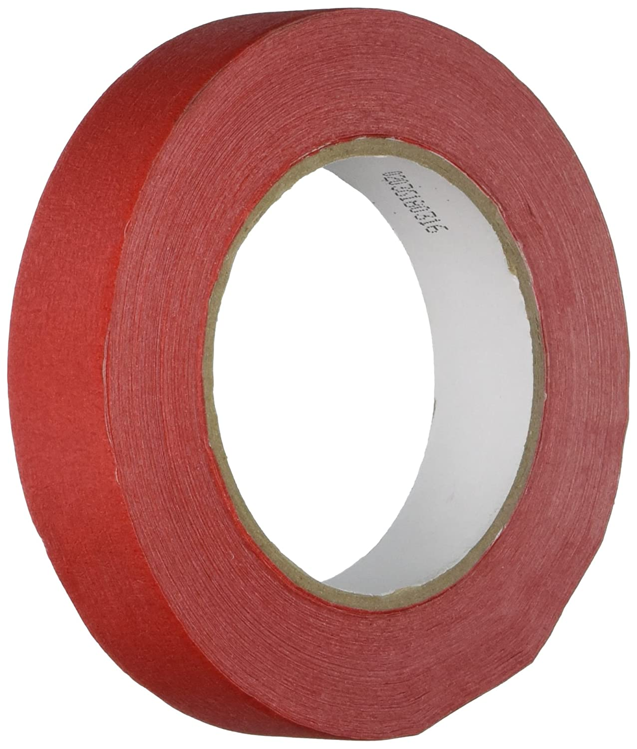Red Chenille Kraft AC4851 Self-Adhesive Colored Masking Tape with 3 Core 1 x 60 yd
