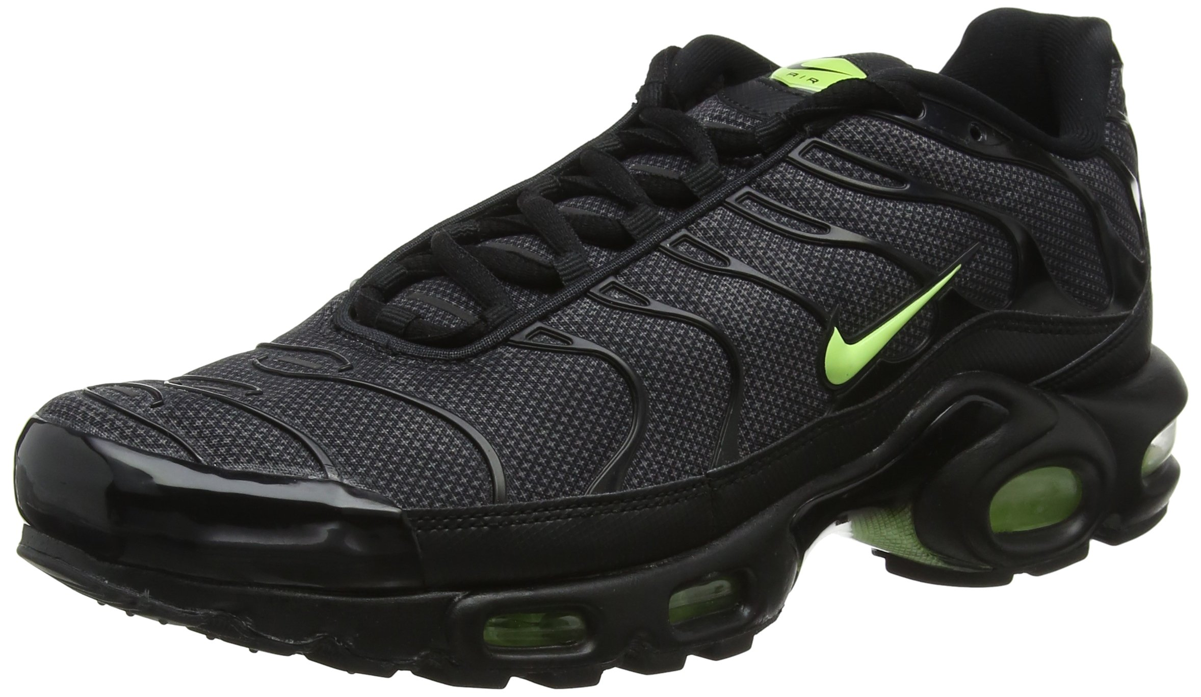 best loved 0db58 909c9 Nike Air Max Plus SE Special Edition TN Sneaker Sport Shoes Black/Gray/neon  Rarity, EU Shoe Size:EUR 42.5