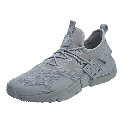 new products 3d656 ecefa Image Unavailable. Image not available for. Color  Nike Air Huarache Drift  Men s Running Shoes Wolf Grey White ...