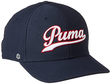 Puma Script Fitted Cap  Amazon.co.uk  Clothing 1db131bcfc5b