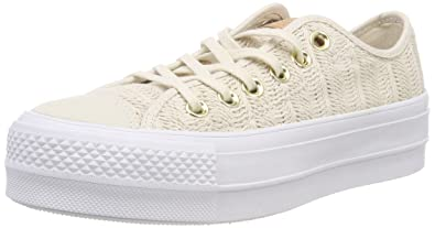 a8abf24fda0a Amazon.com  Converse Womens Chuck Taylor All Star Lift Herringbone ...