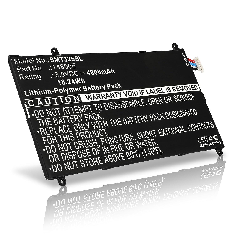 4800mAh T4800E Batterie di ricambio sostituto accu sostituzione SM-T320 // SM-T325 subtel/® Batteria premium per Samsung Galaxy Tab Pro 8.4