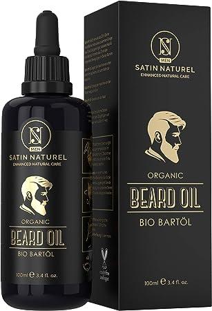 ✅ 100% NATURAL Y ORGÁNICO: nuestro aceite para barba está compuesto exclusivamente por aceites esenc