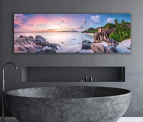 Canvas Art Print Beach Wall Art Tropical beach panorama