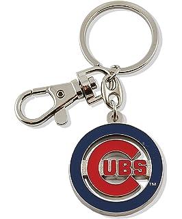 Amazon.com : aminco Chicago Cubs - MLB Silver Baseball Glove ...