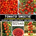 RED Cherry Tomato Sweetie 15 Seeds Sweetest Juice Easy Summer Heirloom Vegetable
