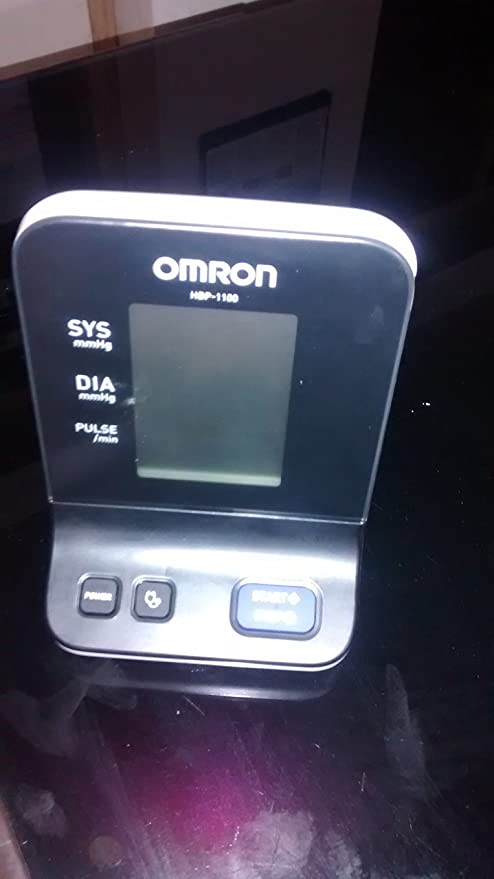 Omron HBP 1100 BP Monitor (White/Silver)