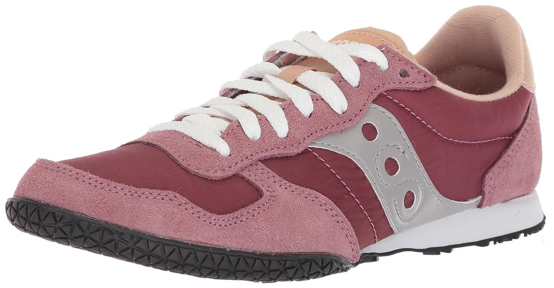 Saucony Originals Women's Bullet Sneaker B071G1JFT6 7 B(M) US|Maroon/Tan