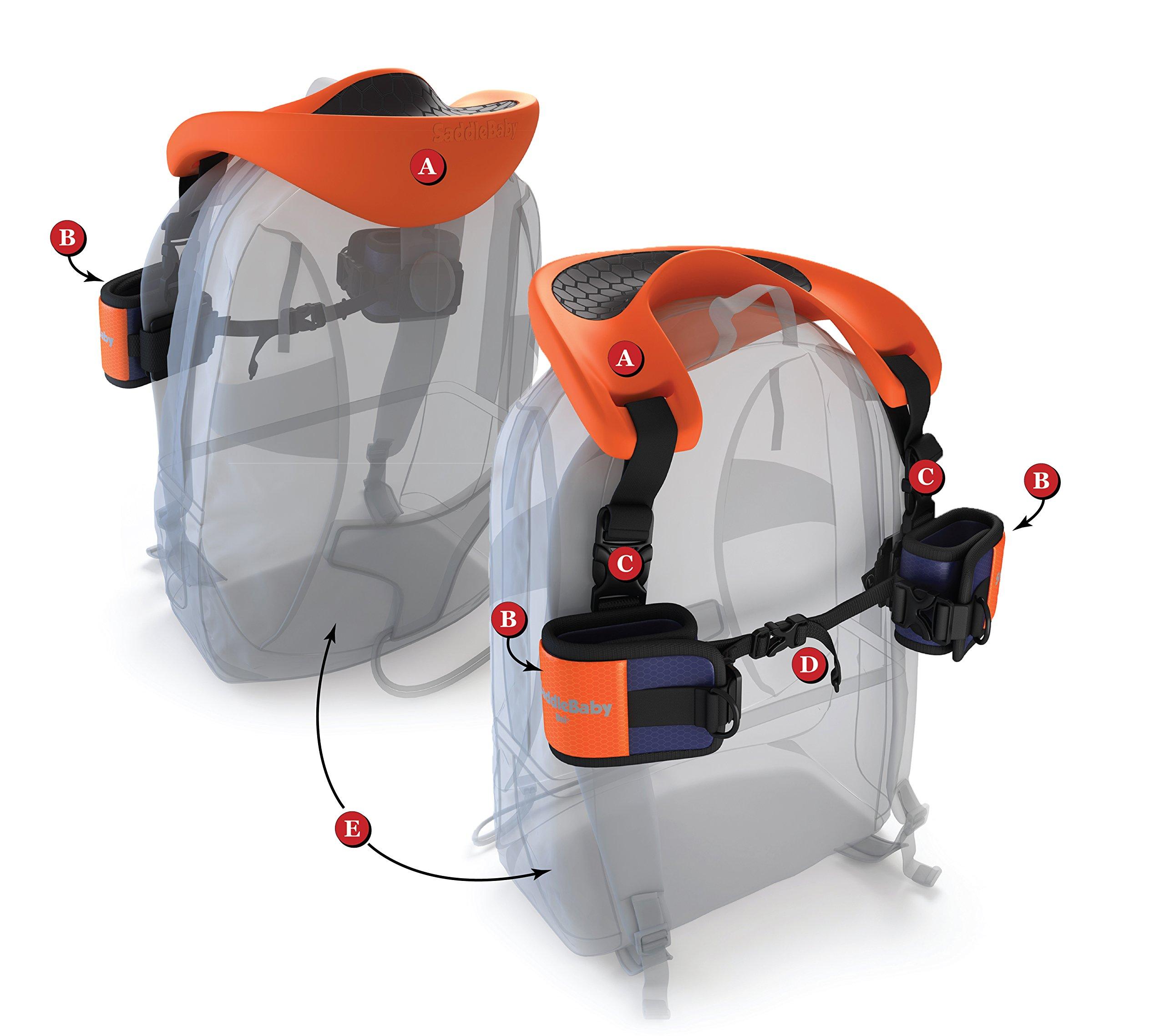 SaddleBaby Shoulder Carrier-UNI Model