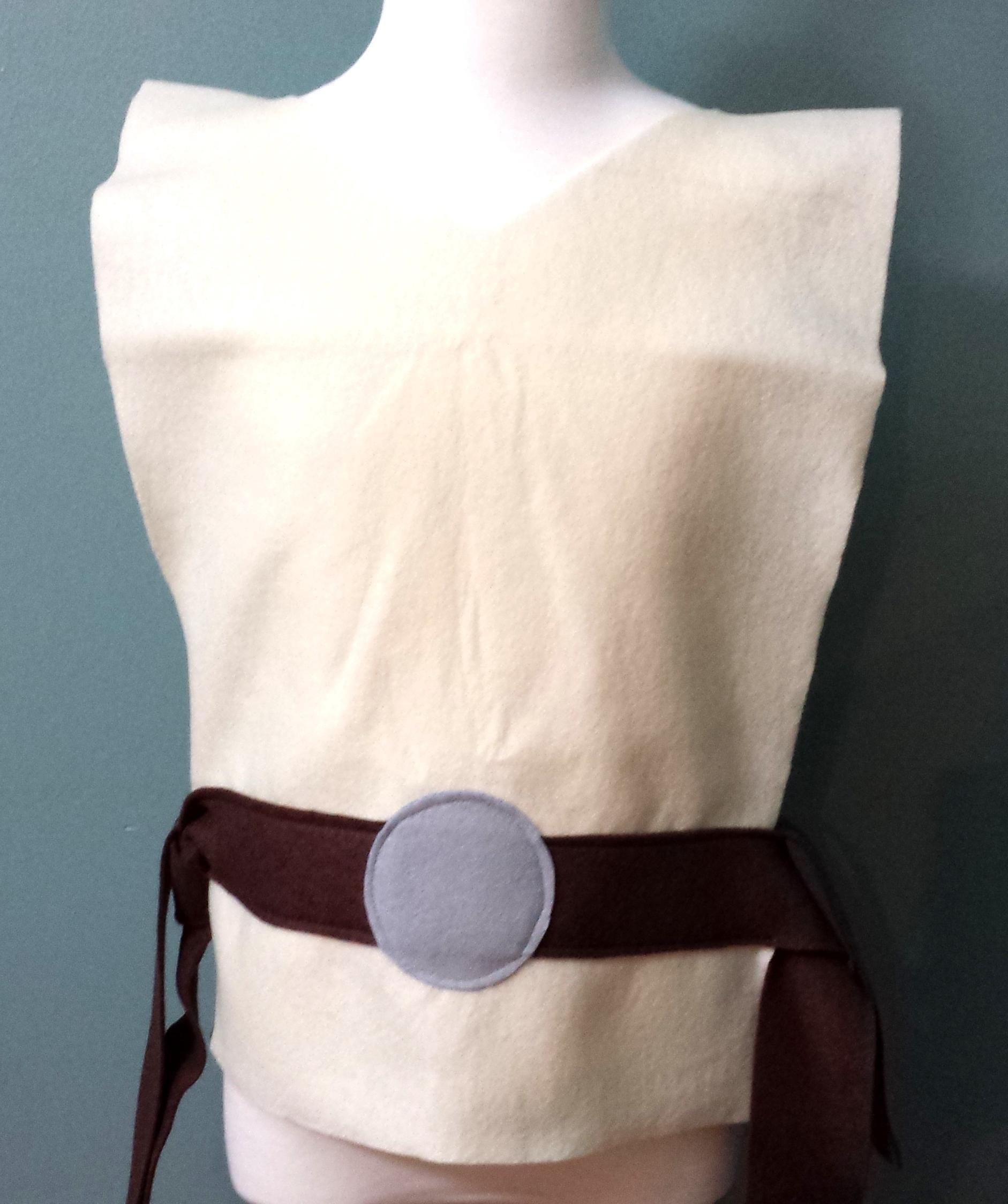 Adult Star Wars Jedi Costume Tunic - Perfect for under your Jedi Robe! (Luke Skywalker/Obi Wan Kenobi) - Baby/Toddler/Kids/Teen/Adult Sizes