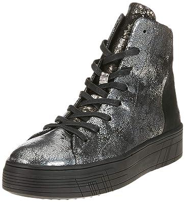 2fc0fc99cfea CRIME London Damen 25322AA1.30 Hohe Sneaker, Schwarz (Grigio 030), 37