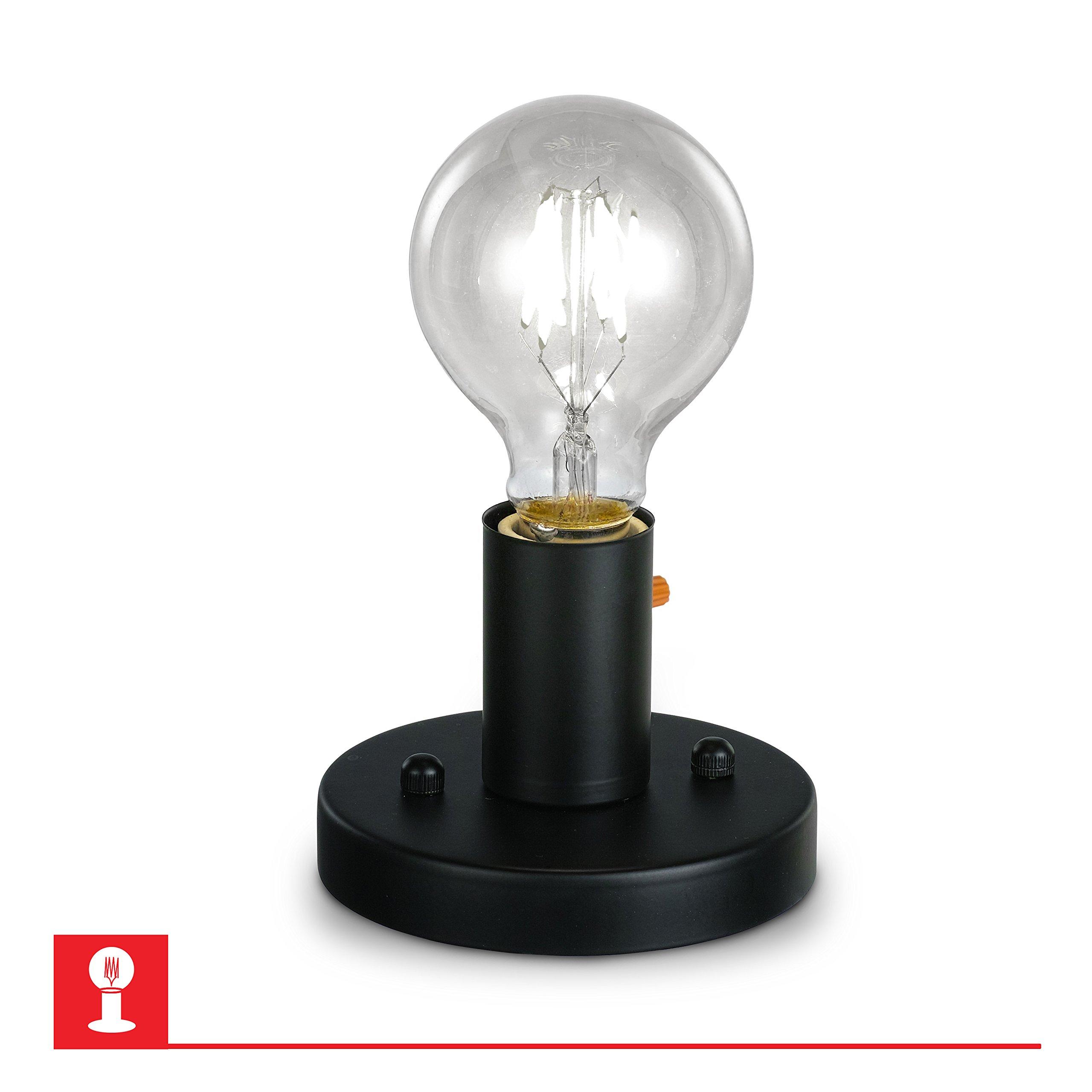 Prescott Black Steel Cylinder Ceiling Light – Steel
