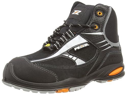 PezzolFormula - Zapatos de Seguridad Unisex Adulto, Color Negro, Talla 35 1/3