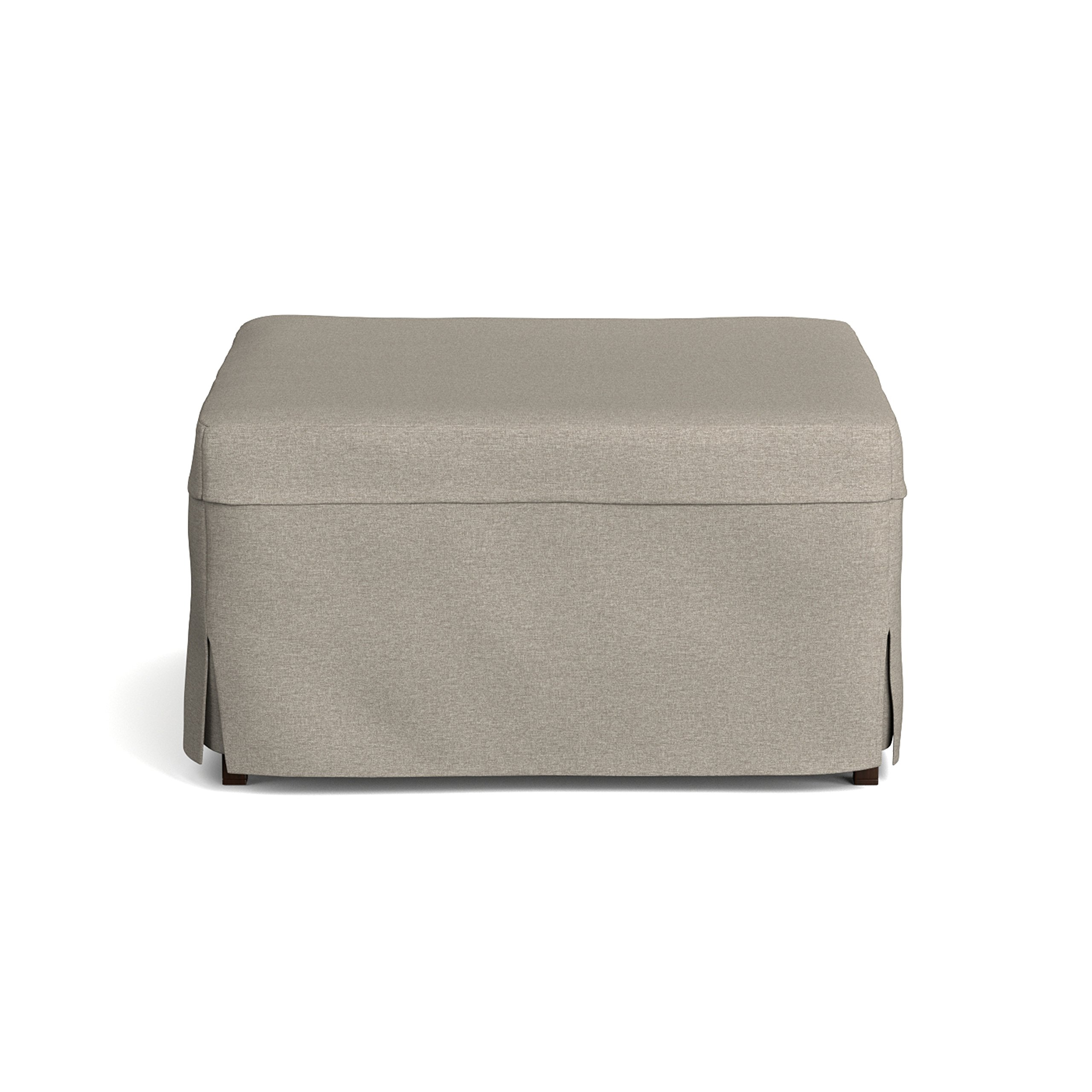 Handy Living Space Saving Folding Ottoman Sleeper Guest Bed, Gray/Brown, Twin by Handy Living