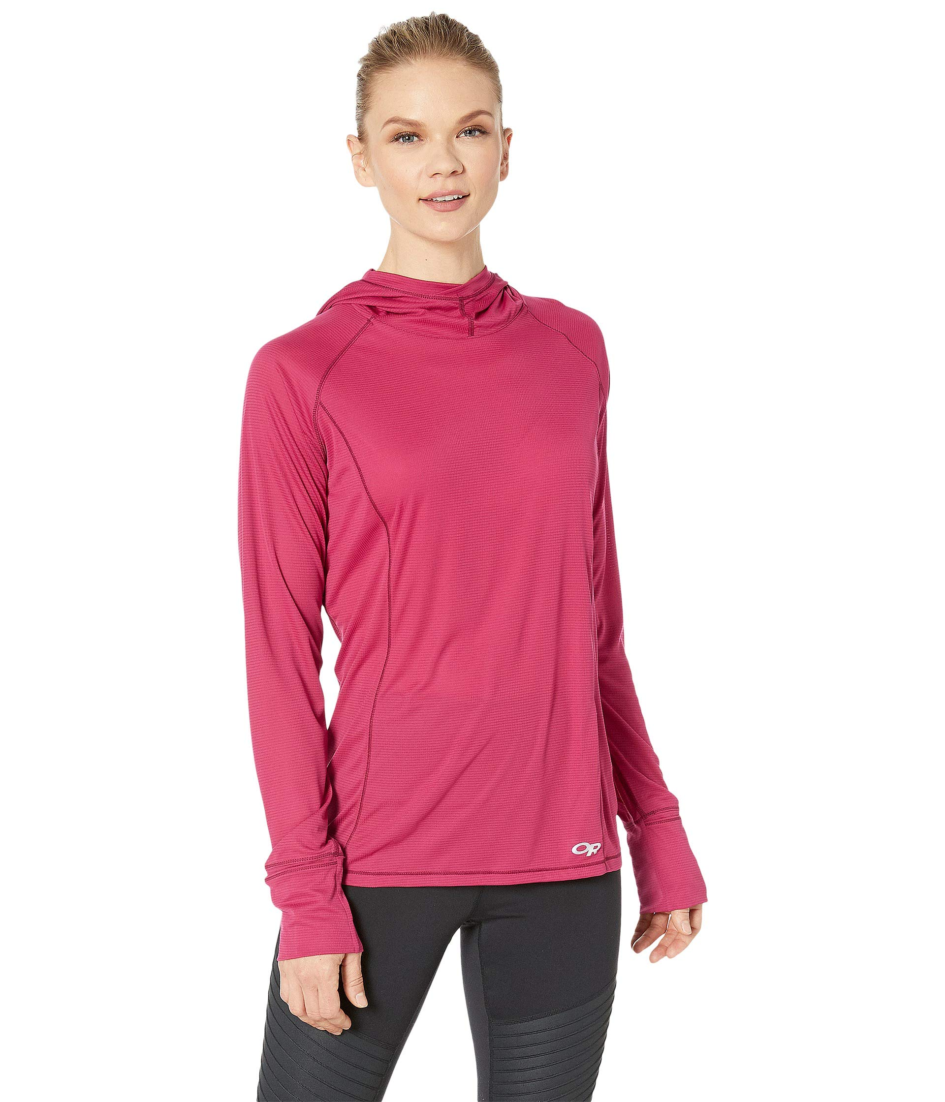 Outdoor Research Women's Echo Hoody, Sangria, X-Small by Outdoor Research