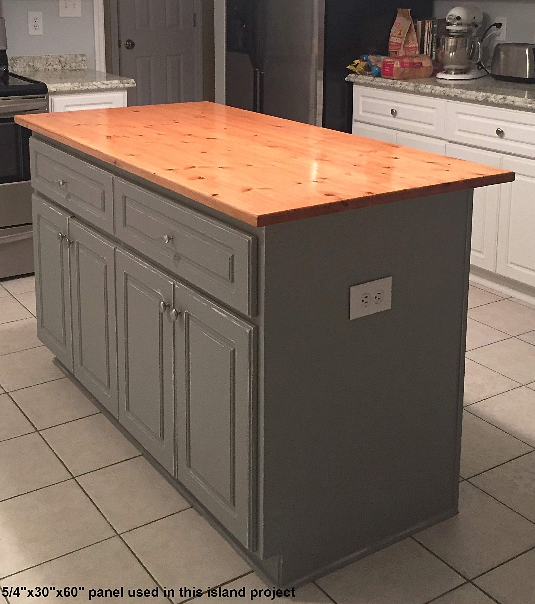 Allwood 1'' x 24''x 96'' Pine Table/Counter/Island Top