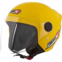 Pro Tork Capacete New Liberty Three 58 Amarelo
