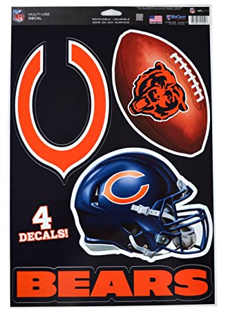 db6c04e33 Image Unavailable. Image not available for. Color  Official National  Football League Fan Shop Licensed NFL Shop Multi-use Decals ...