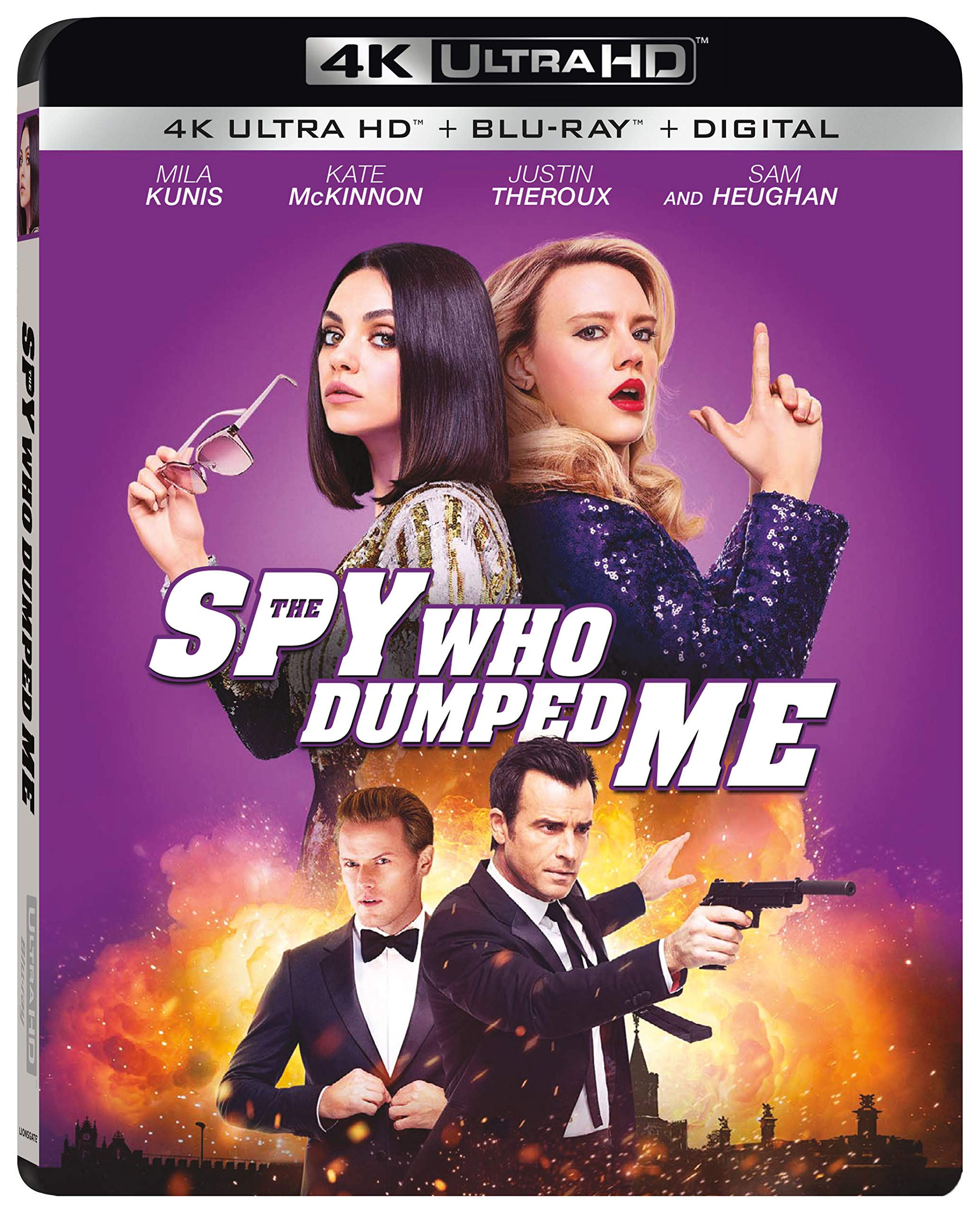 4K Blu-ray : The Spy Who Dumped Me (With Blu-ray, 4K Mastering, Digital Copy, Subtitled, AC-3)