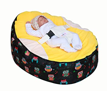 Magnificent Mama Baba Baby Bean Bag Snuggle Bed Without Filling Bralicious Painted Fabric Chair Ideas Braliciousco