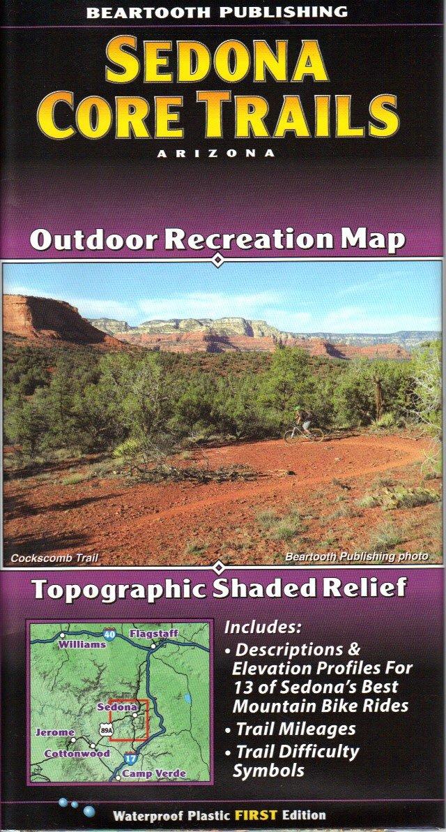 Read Online Sedona Core Trails Outdoor Recreation Map (Arizona Maps, 2) pdf epub