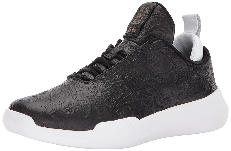 K-Swiss Women's Gen-K Icon Sneaker B072J5CRY6 9 B(M) US Black/White/Black
