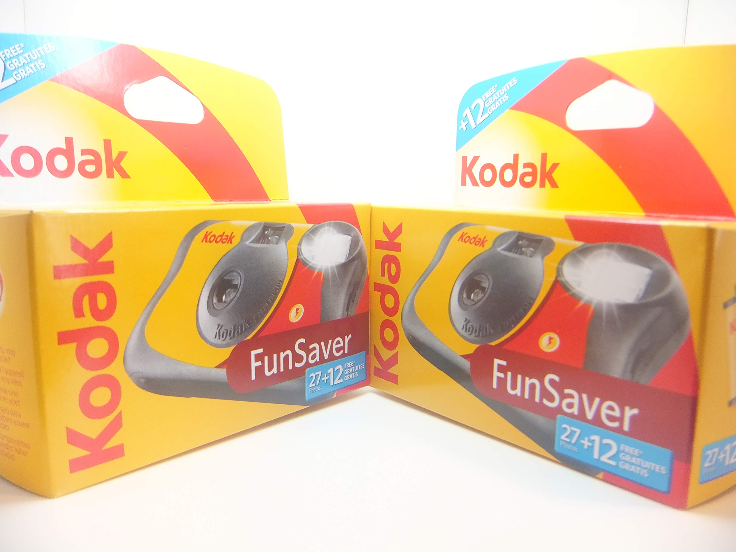 Kodak Disposable Flash Cameras - 39 Exposures - Pack of 2