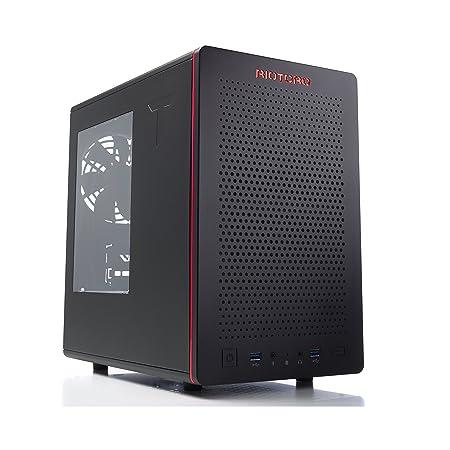 Riotoro CR480 - MidATX - Caja de ordenador, color negro: Amazon.es: Informática