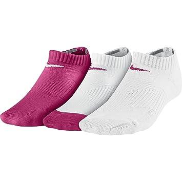 Nike 3P YTH CTN Cush No Show W/Moi - Pack 3 pares de calcetines para ...