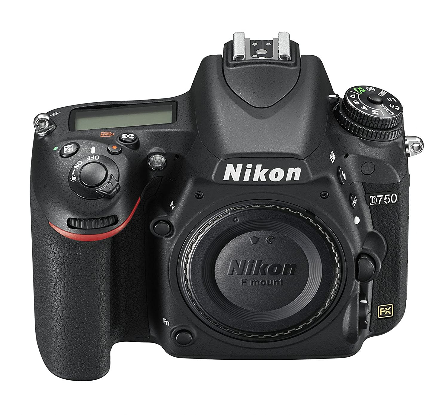Nikon D750 FX-format Digital SLR Camera Body