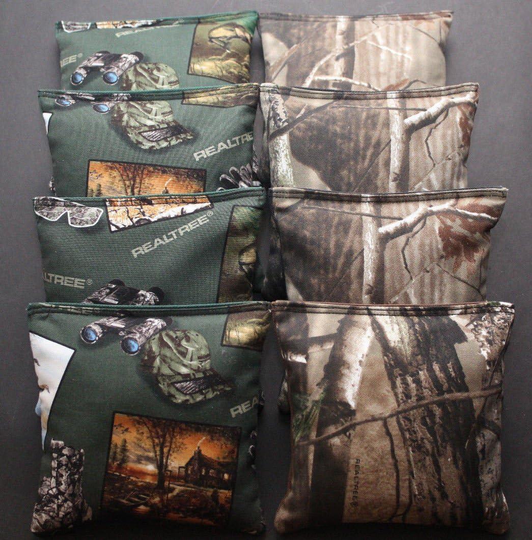 Cornhole Bean Bags REALTREE Pink Camo Deer Camoflauge ACA Real Tree Hunting Bags