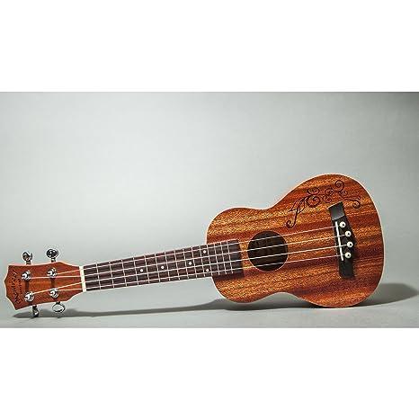 Nice Mentreel Soprano Ukulele Classic Mahogany 21 Inch Satin Finish Easy To Learn Violins
