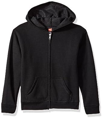 1e61d4c8a5f8 Amazon.com  Hanes Girls  Big ComfortSoft EcoSmart Full-Zip Hoodie  Clothing