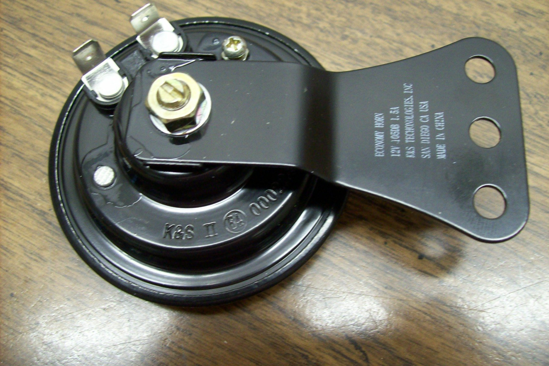 12 volt Universal Economy Horn for small Bikes 023 by K&S (Image #1)