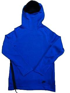 Nike Sportswear Tech Fleece Funnel Neck Hoodie NSW 805214 Maroon Red XL