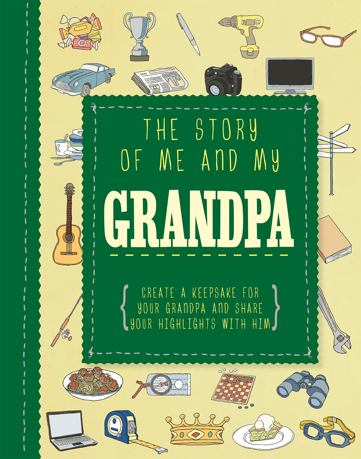 The Story of Me and My Grandpa (Life Canvas) (Adventures With.)