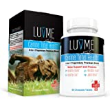 LuvMe Probiotics for Dogs Canine Total Health Formulated with CFU's and 4-in-1 Proprietary Blend Supports Healthy Brain, Gut, Heart, Joint and Coat