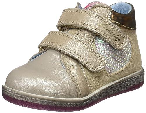 Pablosky 019630, Zapatillas para Niñas, Beige (Hueso), 26 EU