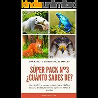 SÚPER PACK Nº3 ¿CUÁNTO SABES DE...?: Pack de 10 libros. Datos curiosos para jóvenes lectores