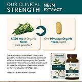 Himalaya Organic Neem (2 Pack) for Mild Acne